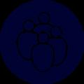 Groupe - Bleu
